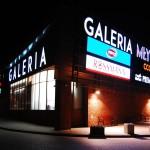 Galeria Młyn nocą